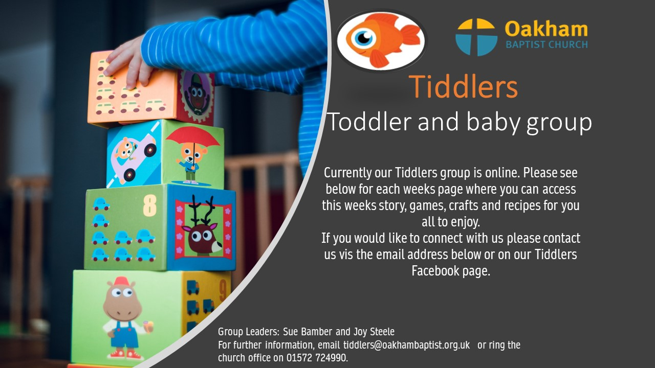 Website - Tiddlers lockdown